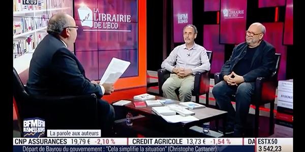 BFM Business : Gil Rivière dans l'émission Librairie Eco d'E. Lechypre