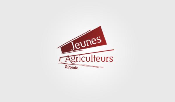 jeunes agriculteurs logo / panique dans l'assiette