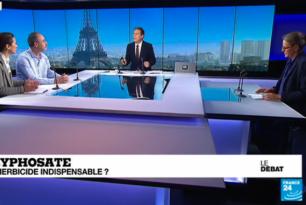 Glyphosate : un herbicide indispensable ? / débat sur France 24